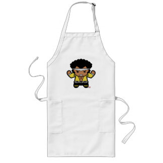 Kawaii Luke Cage Flexing Long Apron