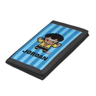 Kawaii Luke Cage Flexing Tri-fold Wallet