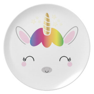 kawaii MAGICAL UNICORN plate 3