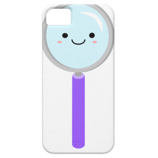 Kawaii magnifying glass iPhone 5 cover