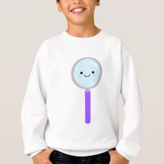 Kawaii magnifying glass sweatshirt