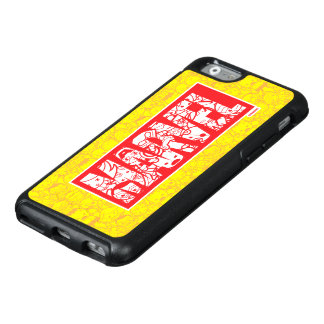 Kawaii Marvel Logo With Super Hero Pattern OtterBox iPhone 6/6s Case