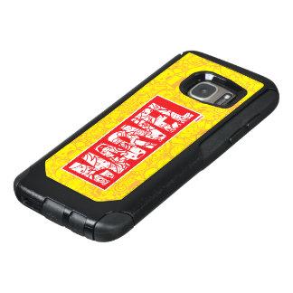 Kawaii Marvel Logo With Super Hero Pattern OtterBox Samsung Galaxy S7 Case