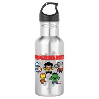 Kawaii Marvel Super Heroes 532 Ml Water Bottle