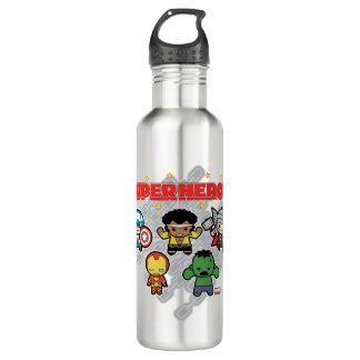 Kawaii Marvel Super Heroes 710 Ml Water Bottle