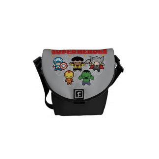 Kawaii Marvel Super Heroes Commuter Bags