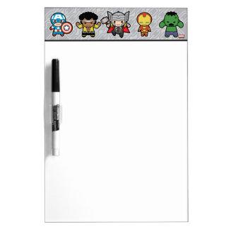 Kawaii Marvel Super Heroes Dry Erase Board