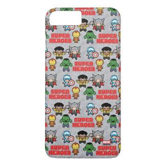 Kawaii Marvel Super Heroes iPhone 8 Plus/7 Plus Case