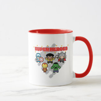 Kawaii Marvel Super Heroes Mug