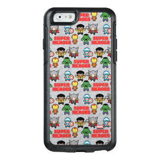 Kawaii Marvel Super Heroes OtterBox iPhone 6/6s Case