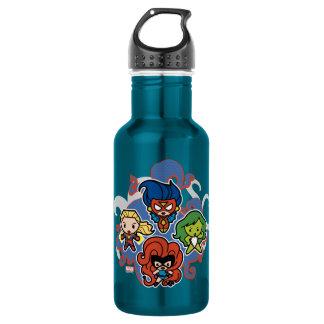 Kawaii Marvel Super Heroines 532 Ml Water Bottle