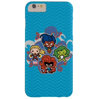 Kawaii Marvel Super Heroines Barely There iPhone 6 Plus Case