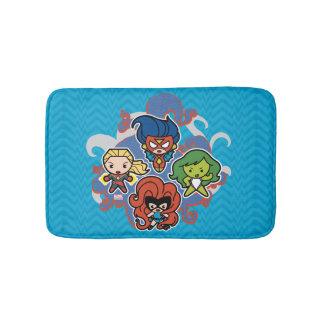 Kawaii Marvel Super Heroines Bath Mat