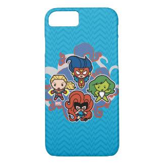 Kawaii Marvel Super Heroines Case-Mate iPhone Case