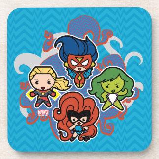 Kawaii Marvel Super Heroines Coaster