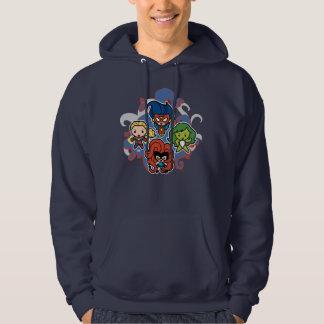 Kawaii Marvel Super Heroines Hoodie
