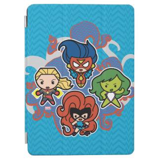 Kawaii Marvel Super Heroines iPad Air Cover