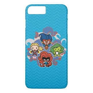 Kawaii Marvel Super Heroines iPhone 8 Plus/7 Plus Case