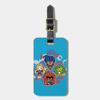Kawaii Marvel Super Heroines Luggage Tag