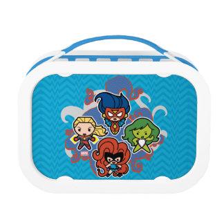 Kawaii Marvel Super Heroines Lunch Box