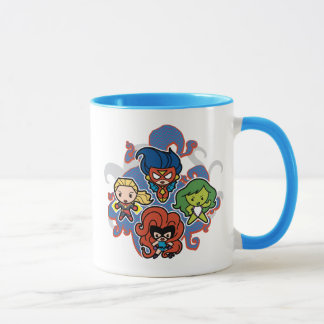 Kawaii Marvel Super Heroines Mug