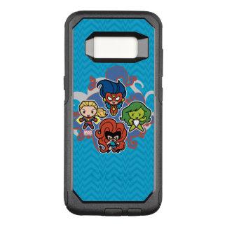 Kawaii Marvel Super Heroines OtterBox Commuter Samsung Galaxy S8 Case
