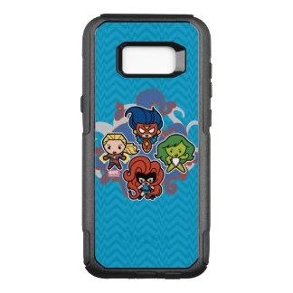 Kawaii Marvel Super Heroines OtterBox Commuter Samsung Galaxy S8+ Case