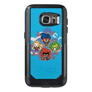 Kawaii Marvel Super Heroines OtterBox Samsung Galaxy S7 Case