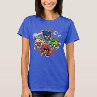 Kawaii Marvel Super Heroines T-Shirt
