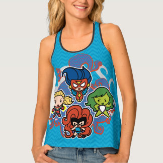 Kawaii Marvel Super Heroines Tank Top