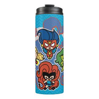 Kawaii Marvel Super Heroines Thermal Tumbler