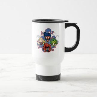 Kawaii Marvel Super Heroines Travel Mug