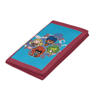 Kawaii Marvel Super Heroines Trifold Wallet