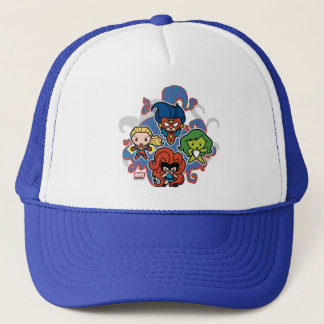 Kawaii Marvel Super Heroines Trucker Hat