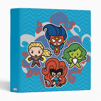 Kawaii Marvel Super Heroines Vinyl Binder