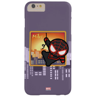 Kawaii Miles Morales City Sunset Barely There iPhone 6 Plus Case