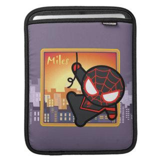 Kawaii Miles Morales City Sunset iPad Sleeve
