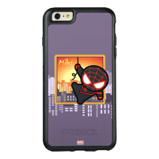 Kawaii Miles Morales City Sunset OtterBox iPhone 6/6s Plus Case