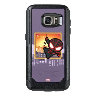 Kawaii Miles Morales City Sunset OtterBox Samsung Galaxy S7 Case