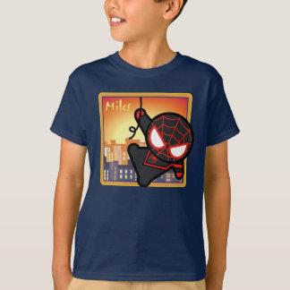 Kawaii Miles Morales City Sunset T-Shirt