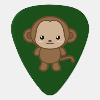 Kawaii Monkey Guitar Pick
