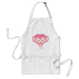 Kawaii monkey standard apron