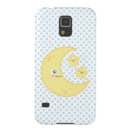 Kawaii Moon and Stars Samsung Case Case For Galaxy S5