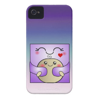 Kawaii Mother and Child Cute Hug iPhone 4 Case-Mate Case