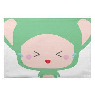 Kawaii mouse placemat