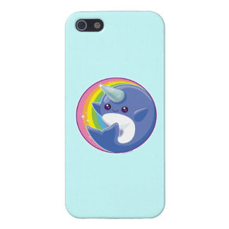 Kawaii Narwhal iPhone 5/5S Covers