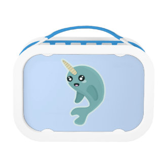 Kawaii Narwhal Lunch Box