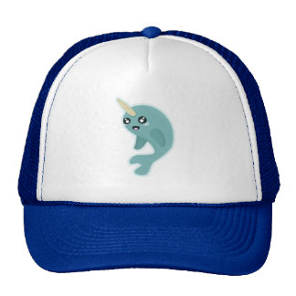 Kawaii Narwhal Trucker Hat