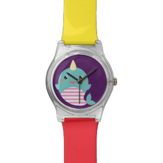 Kawaii Narwhal Watch