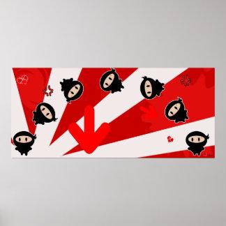 Kawaii Ninja Flipz Print